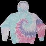Cloud Unicorn Tie-Dye Pullover Hooded Sweatshirt