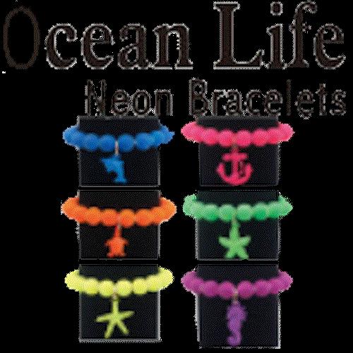 Bracelet (Ocean life - Neon)
