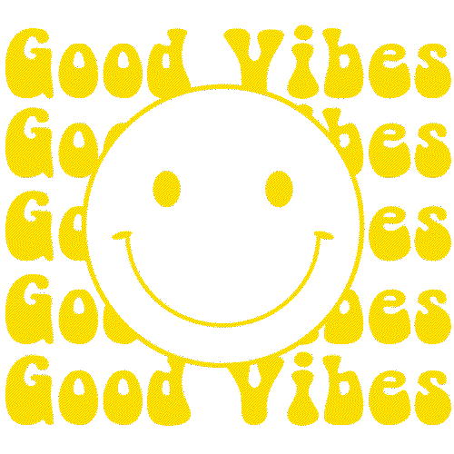 Good Vibes (Happy Face) Yellow
